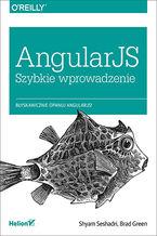 Okładka książki AngularJS. Szybkie wprowadzenie