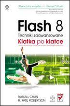 Okładka książki Flash 8. Techniki zaawansowane. Klatka po klatce