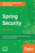 Okładka książki Spring Security - Third Edition