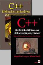 Okładka książki C++. Biblioteka standardowa. Podręcznik programisty, C++. Biblioteka IOStreams i lokalizacja programów