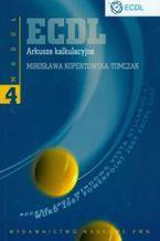 Okładka książki ECDL Moduł 4. Arkusze kalkulacyjne