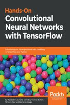 Okładka książki Hands-On Convolutional Neural Networks with TensorFlow