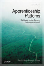 Okładka książki Apprenticeship Patterns. Guidance for the Aspiring Software Craftsman