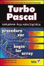 Okładka książki Turbo Pascal. Poradnik dla nauczyciela