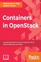 Okładka książki Containers in OpenStack