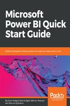 Okładka książki Microsoft Power BI Quick Start Guide