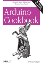 Okładka książki Arduino Cookbook. Recipes to Begin, Expand, and Enhance Your Projects. 2nd Edition
