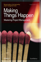 Okładka książki Making Things Happen. Mastering Project Management