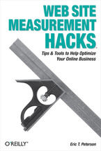 Okładka książki Web Site Measurement Hacks. Tips & Tools to Help Optimize Your Online Business