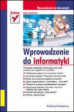Okładka książki Wprowadzenie do informatyki