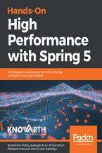 Okładka książki Hands-On High Performance with Spring 5