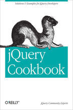 Okładka książki jQuery Cookbook. Solutions & Examples for jQuery Developers