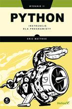 Okładka książki Python. Instrukcje dla programisty. Wydanie II