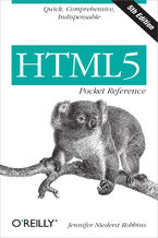 Okładka książki HTML5 Pocket Reference. Quick, Comprehensive, Indispensable. 5th Edition