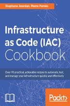 Okładka książki Infrastructure as Code (IAC) Cookbook