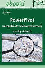 Okładka książki PowerPivot narzędzie do wielowymiarowej analizy danych