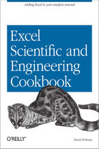 Okładka książki Excel Scientific and Engineering Cookbook