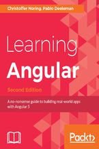 Okładka książki Learning Angular - Second Edition