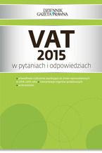 VAT 2015 w pytaniach i odpowiedziach