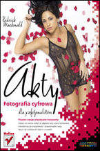 Okładka książki Akty. Fotografia cyfrowa dla profesjonalistów