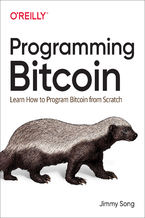 Okładka książki Programming Bitcoin. Learn How to Program Bitcoin from Scratch