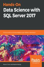 Okładka książki Hands-On Data Science with SQL Server 2017