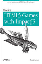 Okładka książki Building HTML5 Games with ImpactJS. An Introduction On HTML5 Game Development