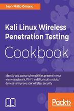Okładka książki Kali Linux Wireless Penetration Testing Cookbook
