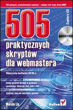 Okładka książki 505 praktycznych skryptów dla webmastera