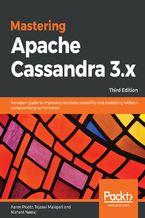 Okładka książki Mastering Apache Cassandra 3.x