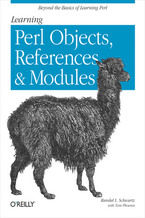 Okładka książki Learning Perl Objects, References, and Modules