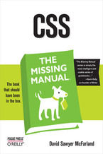 Okładka książki CSS: The Missing Manual. The Missing Manual