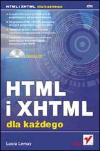 Okładka książki HTML i XHTML dla każdego