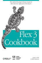 Okładka książki Flex 3 Cookbook. Code-Recipes, Tips, and Tricks for RIA Developers