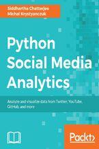 Okładka książki Python Social Media Analytics