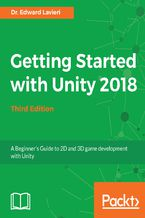 Okładka książki Getting Started with Unity 2018