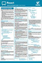 Okładka książki Tablice informatyczne. React