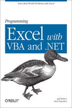 Okładka książki Programming Excel with VBA and .NET