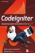 Okładka książki CodeIgniter. Zaawansowane tworzenie stron w PHP