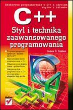 Okładka książki C++. Styl i technika zaawansowanego programowania