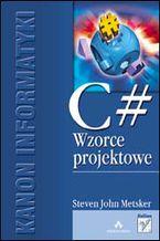Okładka książki C#. Wzorce projektowe