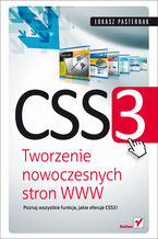 Okładka książki CSS3. Tworzenie nowoczesnych stron WWW