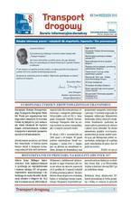 Transport drogowy. Aktualne informacje prawne i wskazówki dla eksporterów, importerów i firm przewozowych. Nr 9/2015