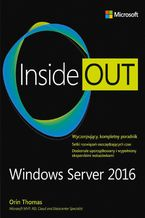 Okładka książki Windows Server 2016 Inside Out