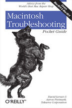 Okładka książki Macintosh Troubleshooting Pocket Guide for Mac OS