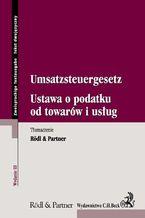 Ustawa o podatku od towarów i usług. Umsatzsteuergesetz