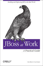 Okładka książki JBoss at Work: A Practical Guide. A Practical Guide