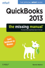 Okładka książki QuickBooks 2013: The Missing Manual. The Official Intuit Guide to QuickBooks 2013