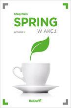 Okładka książki Spring w akcji. Wydanie V