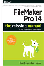 Okładka książki FileMaker Pro 14: The Missing Manual